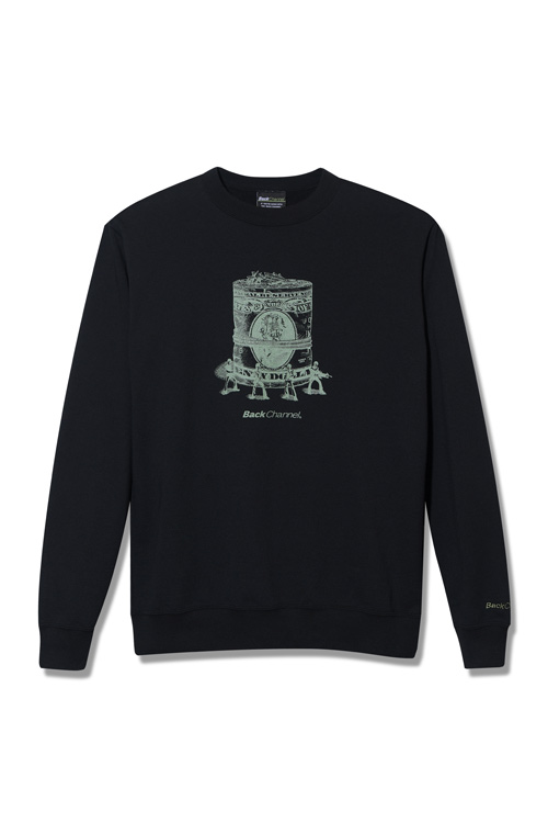 画像1: 【Back Channel】MONEY CREW SWEAT (1)