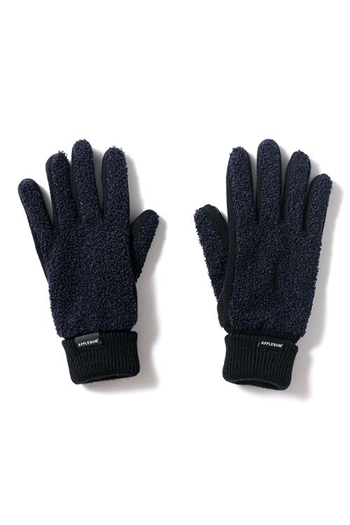画像1: 【APPLEBUM】Loop Yarn Glove (1)
