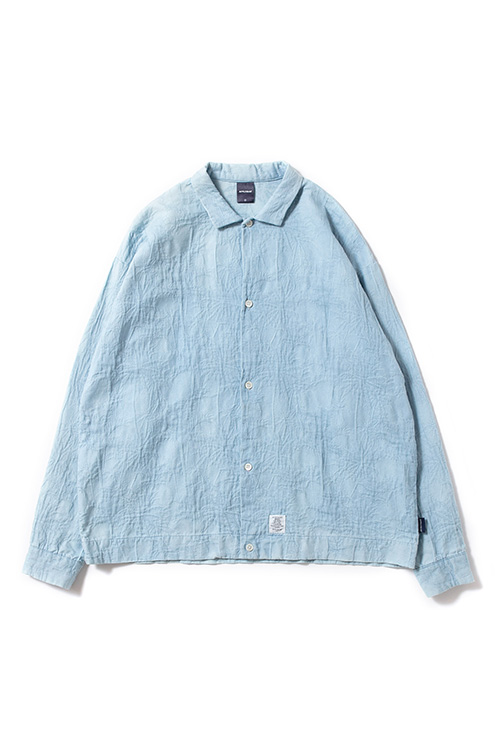 画像1: 【APPLEBUM】Bleach Square L/S Shirt (1)