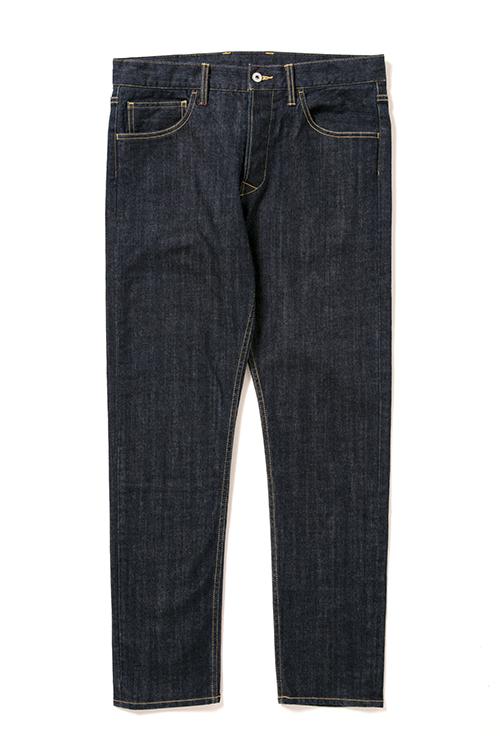 画像1: 【APPLEBUM】Kate Slim Stretch Denim Pants (1)