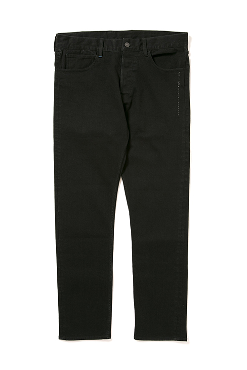 画像1: 【APPLEBUM】Kate Slim Stretch Black Denim Pants (1)