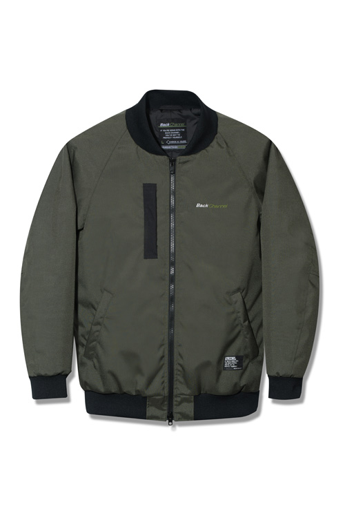画像1: Back Channel / CORDURA NYLON MA-1 JACKET (1)