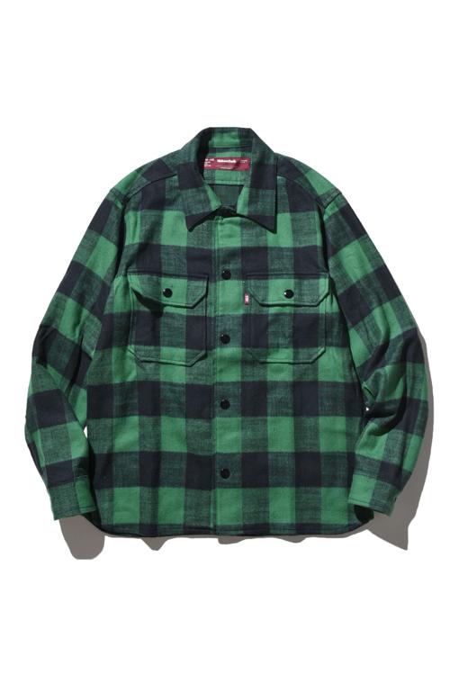 画像1: HIDEANDSEEK / CPO L/S Shirt (1)