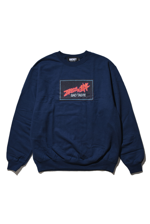 画像1: 【 HOCKEY 】 Bad Taste Crewneck Sweater (1)