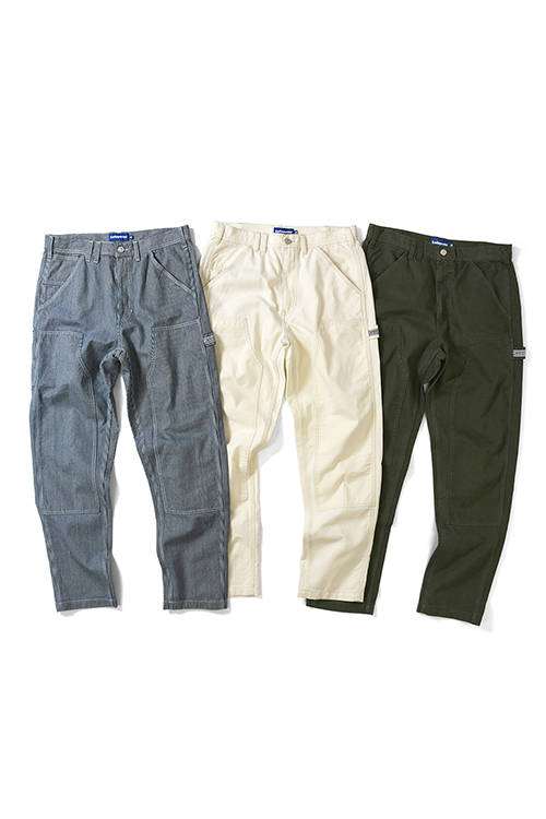 画像1: LAFAYETTE / DOUBLE KNEE PAINTER PANTS (1)