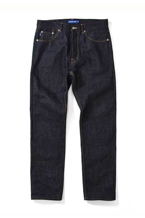 画像1: LAFAYETTE / 5 POCKET SELVAGE DENIM PANTS - STANDARD FIT (1)
