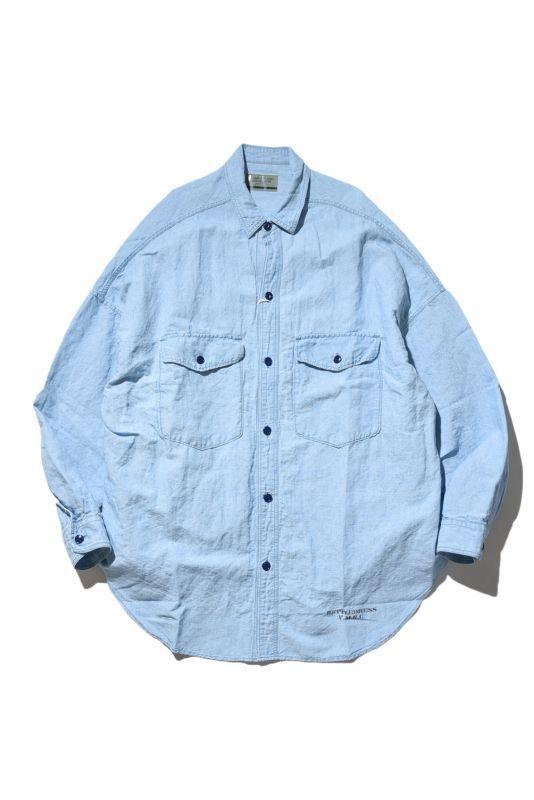 画像1: VOTE MAKE NEW CLOTHES / MARVEL CHAMBRAY SHIRTS (1)