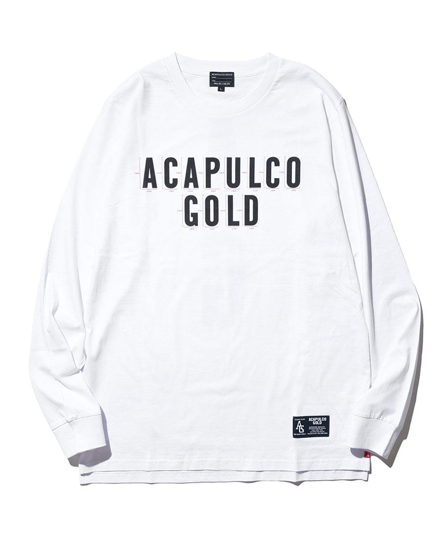 画像1: ACAPULCO GOLD / MEASURE LS TEE (1)