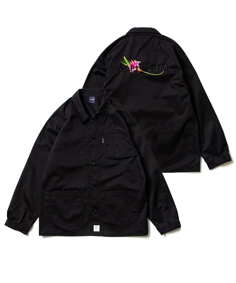 画像1: APPLEBUM / Flower Logo Coverall Jacket (1)