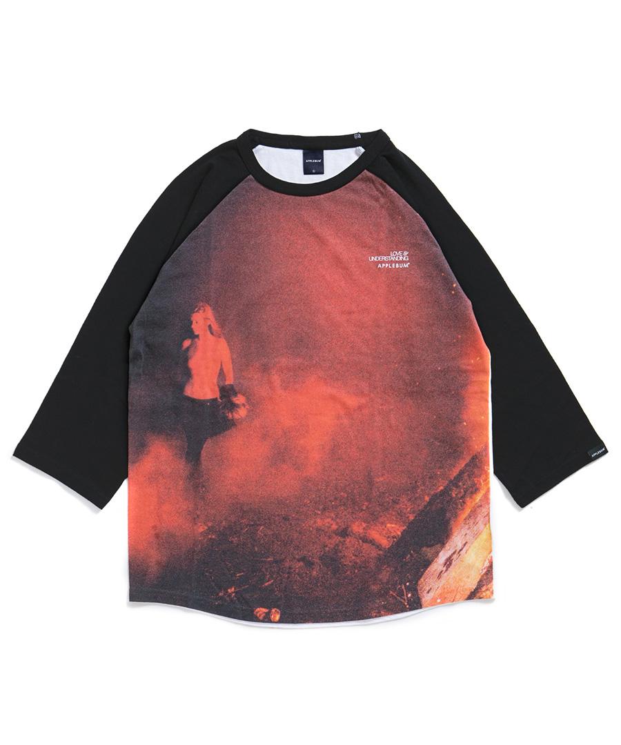 "画像1: APPLEBUM / ""Kate"" Raglan 3/4 Sleeve T-shirt (1)"