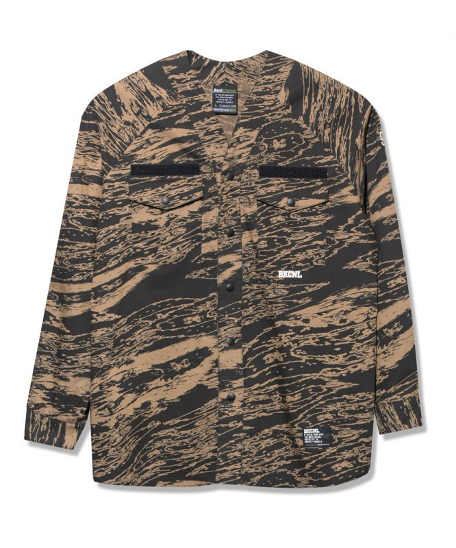 画像1: Back Channel / GHOSTLION CAMO SCOUT SHIRT (1)