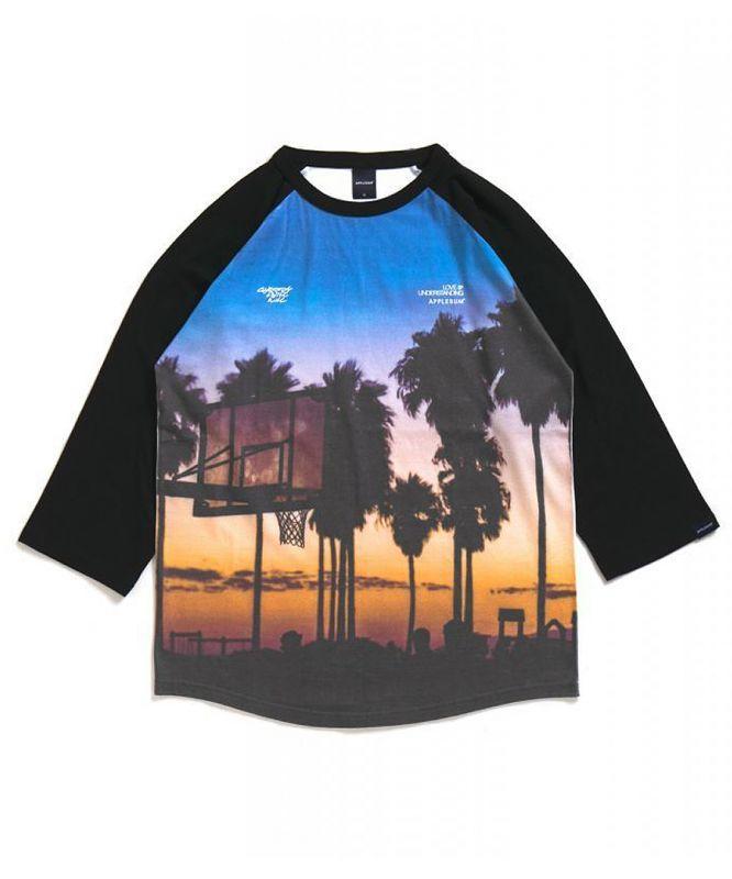 """画像1: APPLEBUM / """"Sunset Playground"""" Raglan 3/4 Sleeve T-shirt (1)"""
