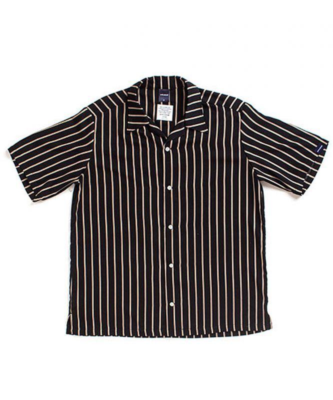 画像1: APPLEBUM / Regimental Stripe Aloha S/S Shirt (1)