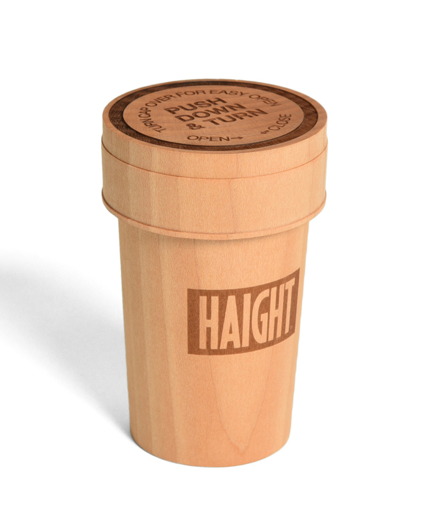 画像1: 【HAIGHT】WOODEN PILLCASE (1)