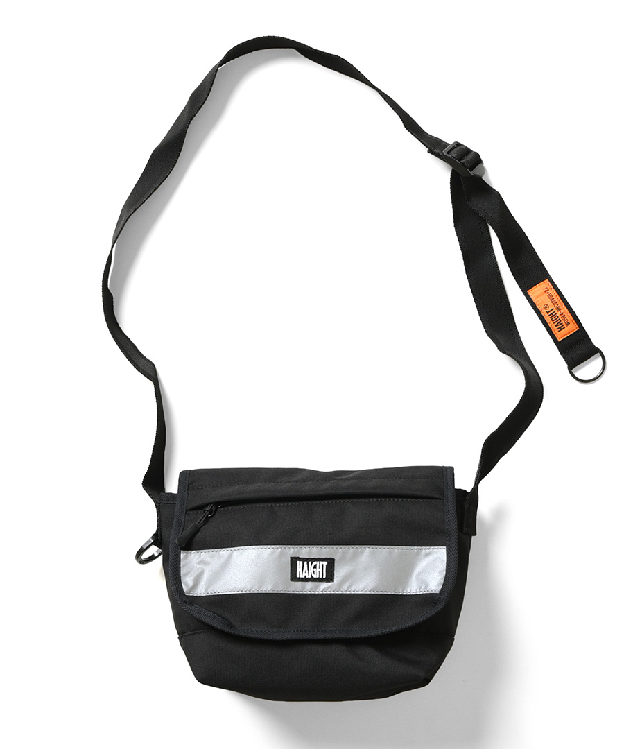 画像1: 【HAIGHT】DROP BELT SMALL MESSENGER BAG (1)