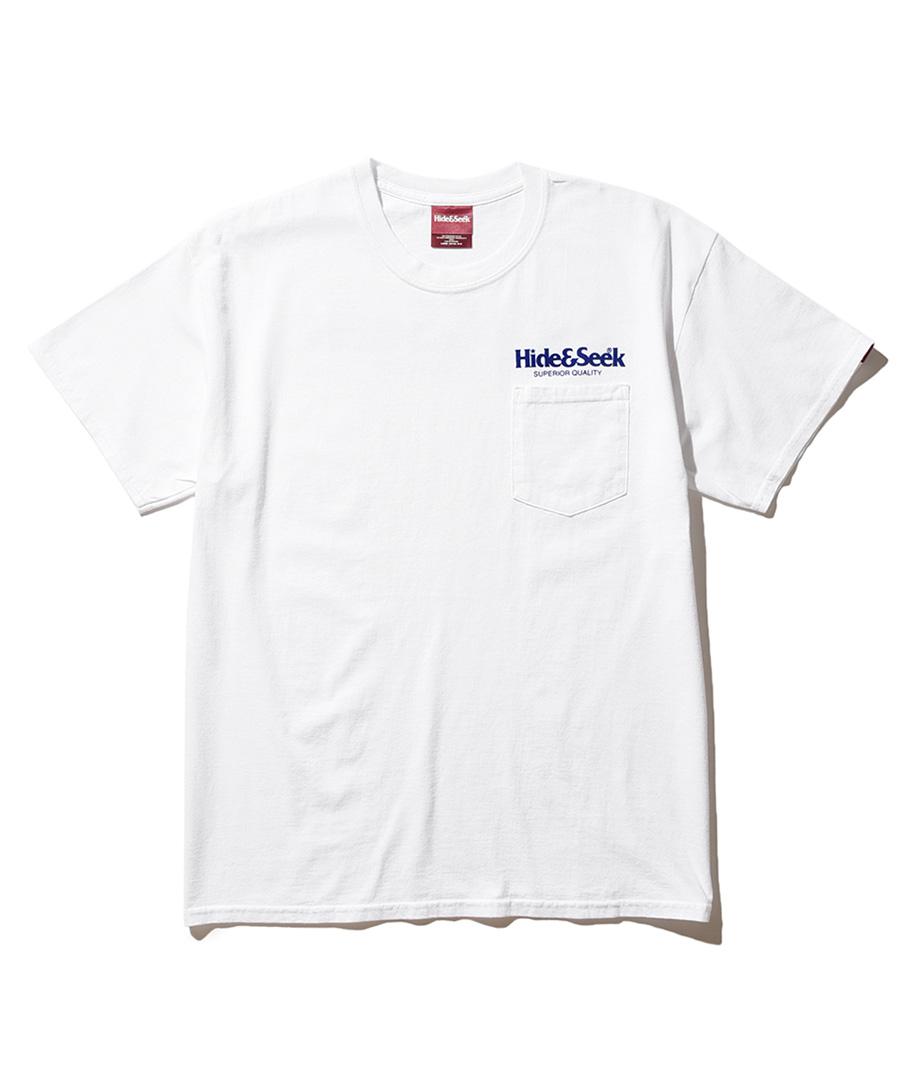 画像1: HIDEANDSEEK / H&S Pocket S/S Tee(Flocky) (1)