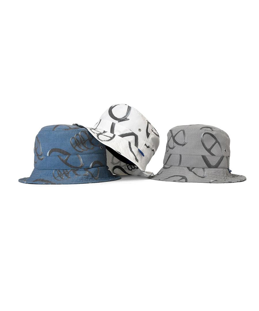 画像1: LAFAYETTE / CITYRACKS ALLOVER PATTERN BACKET HAT (1)