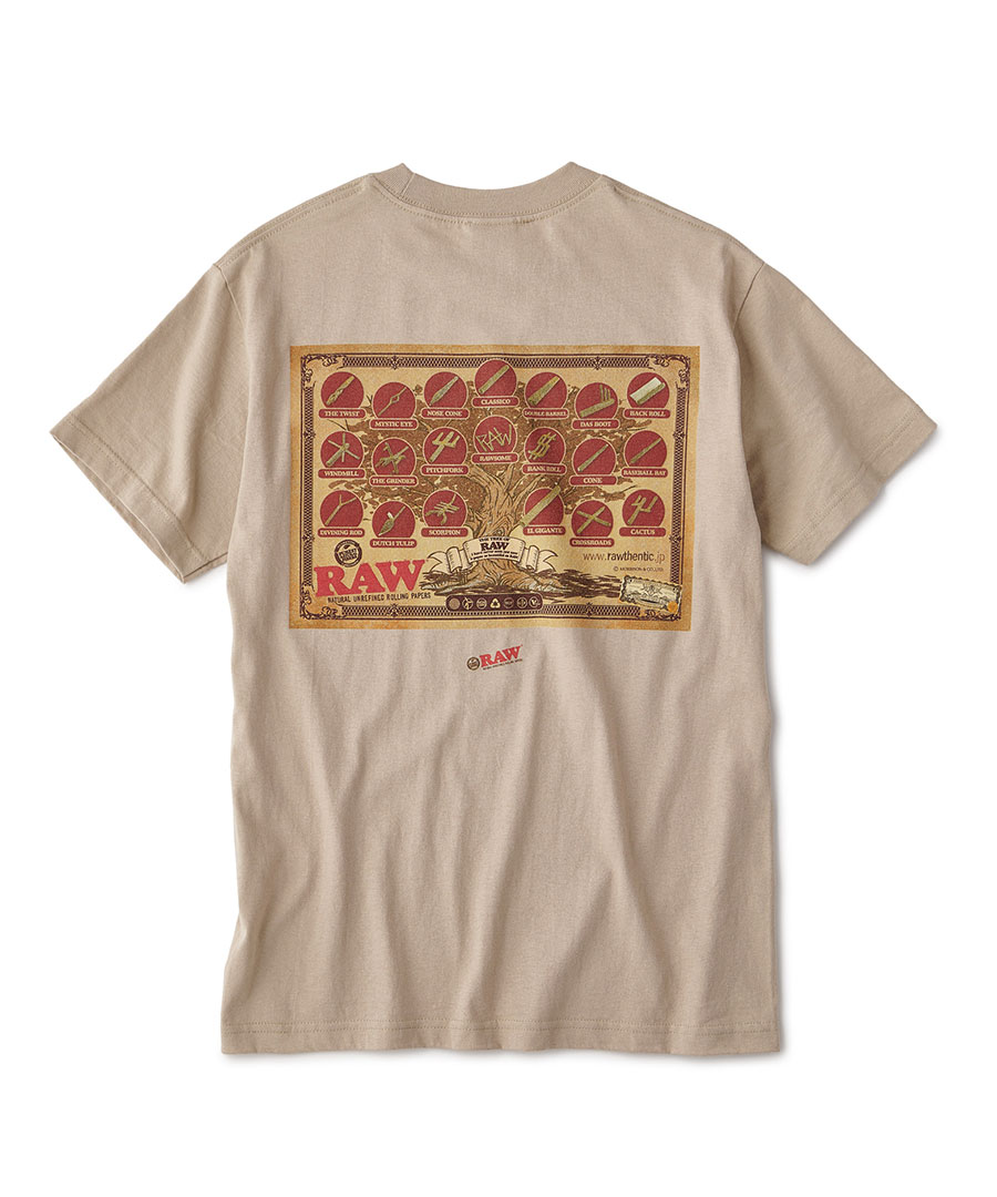 "画像1: INTERBREED / RAW × INTERBREED ""Tree of RAW SS Tee"" (1)"