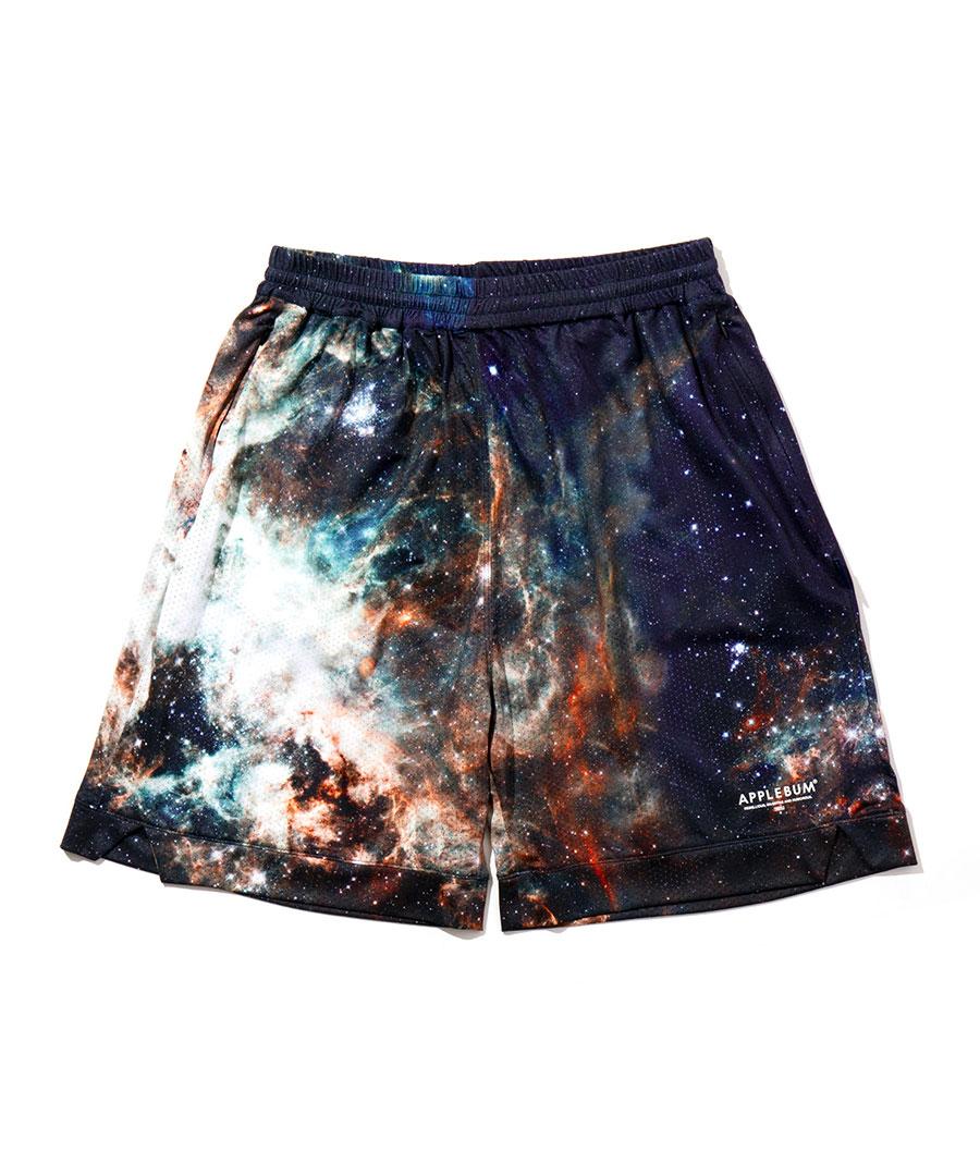 """画像1: APPLEBUM / """"Nebula"""" Basketoball Mesh Shorts (1)"""