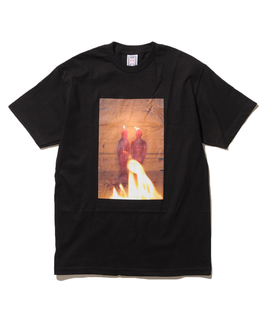 画像1:  Saints & Sinners / CANDLE S/S TEE (1)