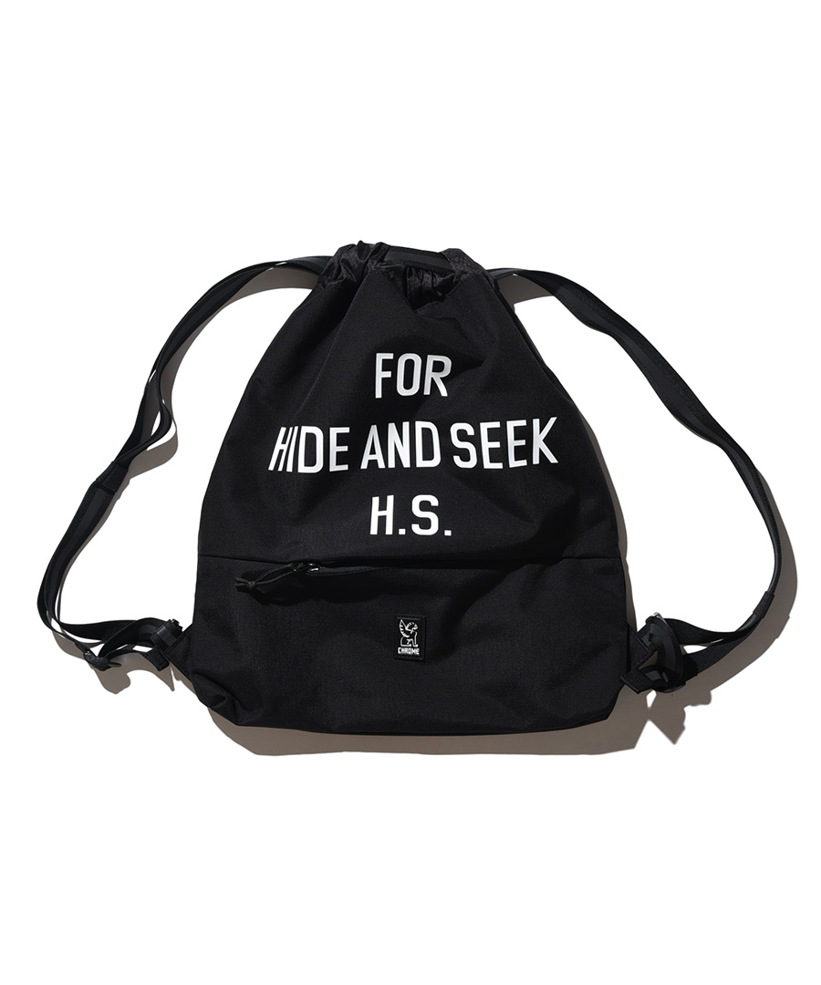 画像1: HIDEANDSEEK / HS x Chrome GYM BAG (1)