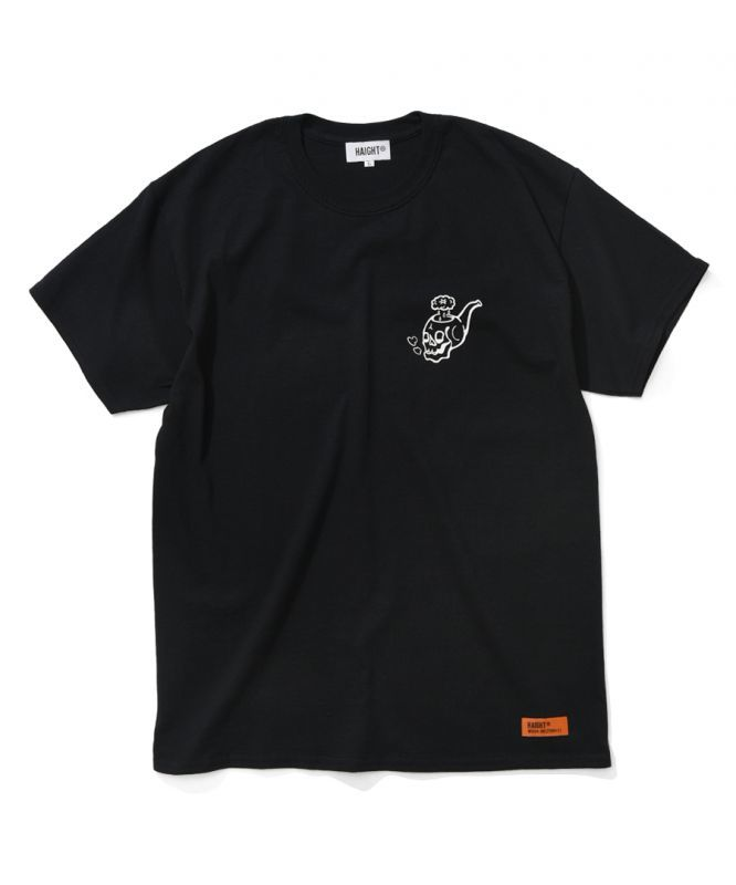 画像1: HAIGHT / SKULL PIPE Tee ft RAT HOLE STUDIO (1)