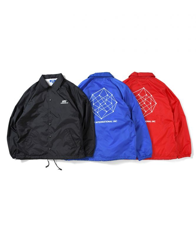 画像1: LFYT / LFYT INTERNATIONAL, INC. RAGLAN NYLON COACH JACKET (1)