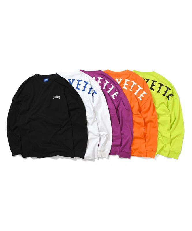 画像1: LFYT / ARCH LOGO DROP SHOULDER LS TEE (1)