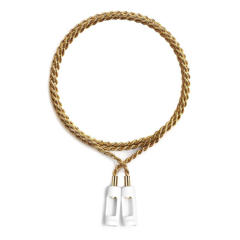 画像1:  TAPPER / Rope Chains For AirPods -18K GOLD- (1)