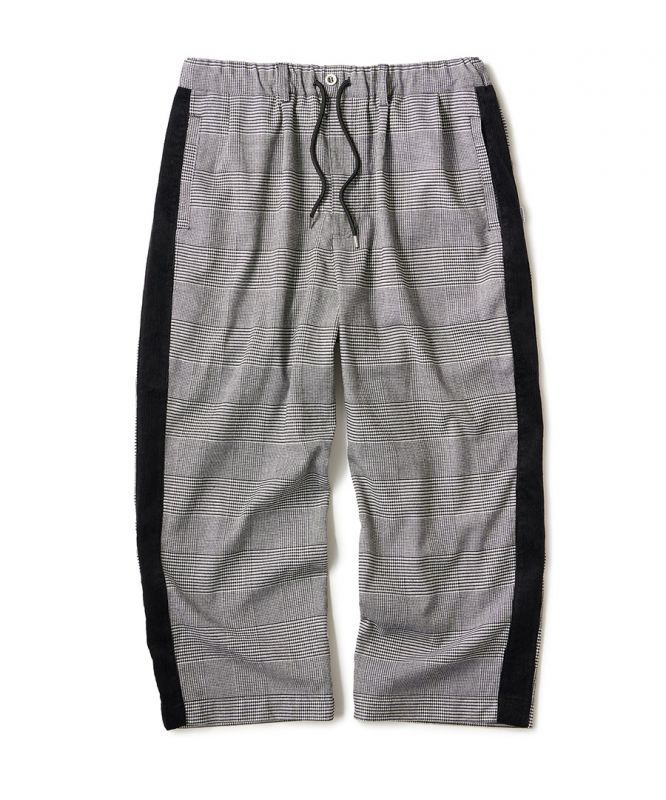 画像1: INTERBREED / Side Lined Plaid Trouser (1)