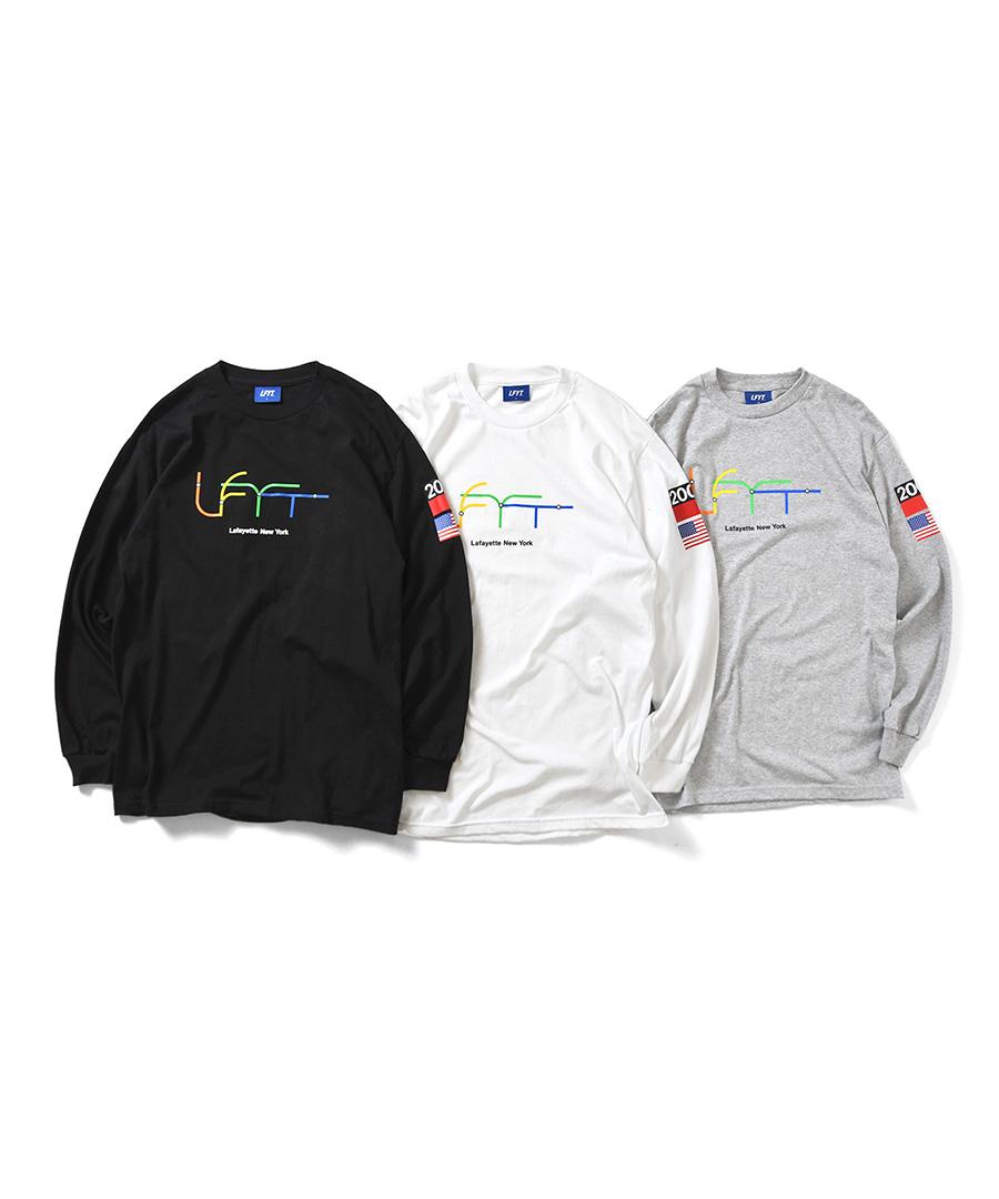 画像1: LFYT / SUBWAY LINE LFYT LS TEE (1)
