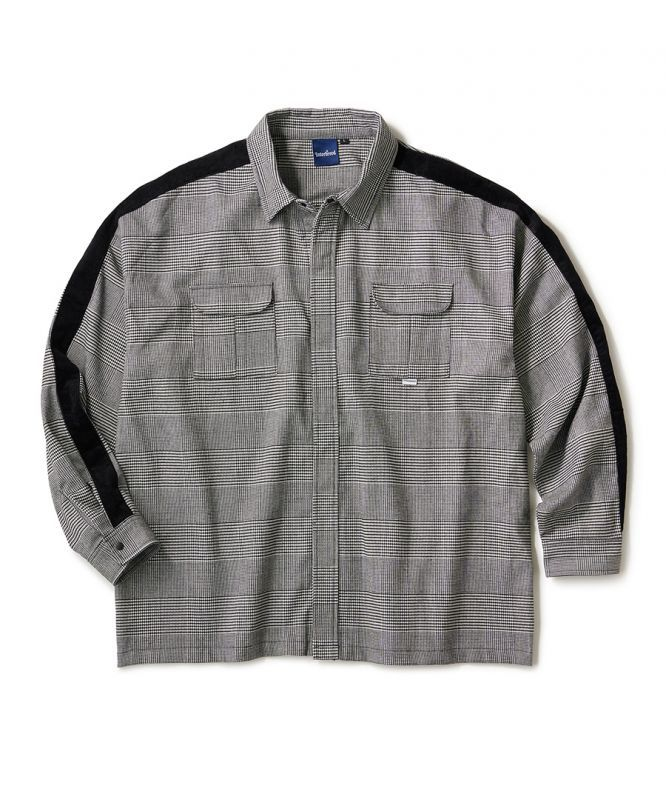 画像1: INTERBREED / Side Lined Plaid Shirts (1)
