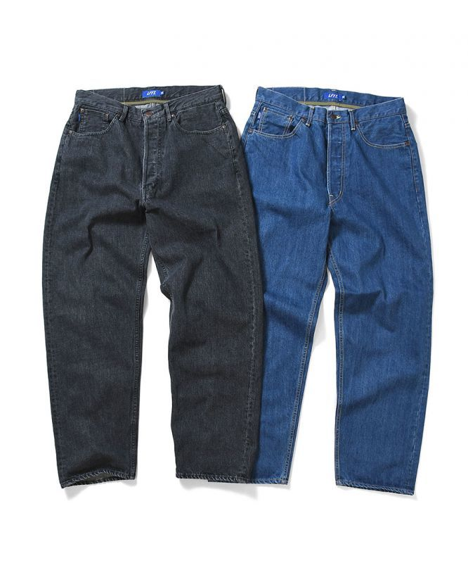 画像1: LFYT / 5 POCKET WASHED DENIM PANTS BAGGIE FIT (1)