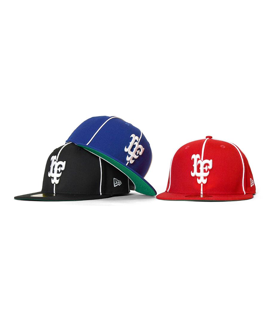 画像1: LFYT / Lafayette X NEW ERA-PIPING LF LOGO 59FIFTY FITTED CAP (1)