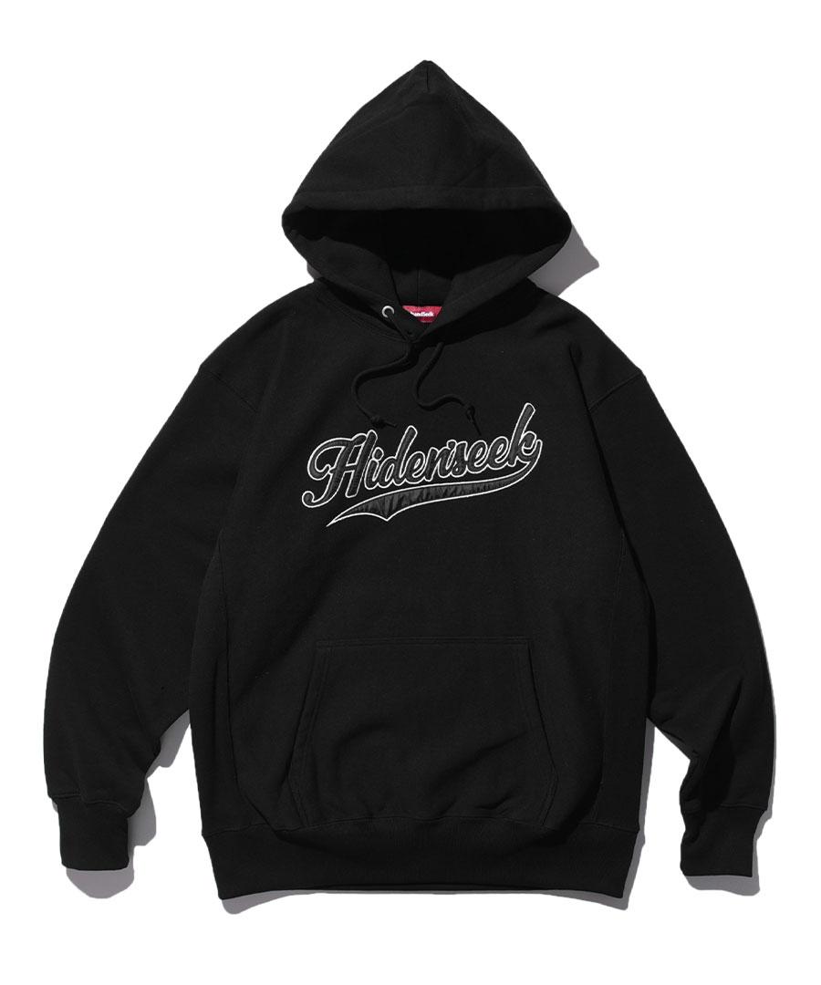 画像1: HIDEANDSEEK / Hooded College Sweat Shirt (1)