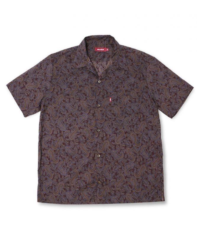 画像1: HIDEANDSEEK / Paisley S/S Shirt (1)